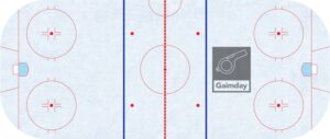 hockey rink lines